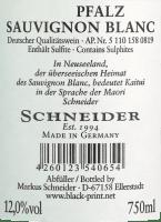 Voorvertoning: Kaitui Sauvignon Blanc trocken 2020 - Markus Schneider