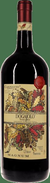De Dogajolo Toscano Rosso van Carpineto, nu ook in de indrukwekkende magnumfles. Leer meer in de expertise van de Dogajolo Rosso.