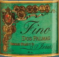 Voorvertoning: Dos Palmas Fino 0,5 l - Gonzalez Byass