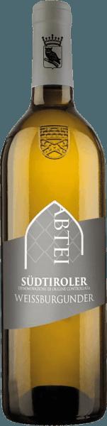 De Zuid-Tiroolse Pinot Blanc van Abtei Muri-Gries presenteert zich met een groenige tot lichtgele kleur in het glas. De neus is gevuld met een fris, levendig gevoel met stevige volheid. De aroma's doen denken aan appel- en peeraroma's gecombineerd met wat kruidigheid. In de frisse, fruitige mond imponeert de Weisswien met finesse, een goede structuur en een mooi samenspel van zuurgraad, fruit en body. Serveertip / Combinatie met eten Serveer de Pinot Blanc uit Zuid-Tirol bij voorgerechten, gestoomde vis of licht gekruide, lichte vleesgerechten.