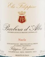 Voorvertoning: Nuela Barbera d'Alba DOC 2020 - Elio Filippino