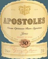 Voorvertoning: Apostoles Palo Cortado - Gonzalez Byass