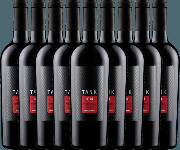 9er Vorteils-Weinpaket - TANK No 26 Nero d'Avola Appassimento IGT 2020 - Cantine Minini