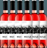 6er Vorteils-Weinpaket - Bestué Rosado Somontano DO 2019 - Otto Bestué