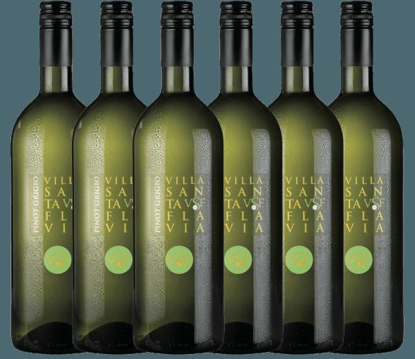 De Pinot Grigio van het wijnhuis Villa Santa Flavia biedt een fris, mild wijngenot. In de neus en de mond fruitig-frisse aroma's van knapperige appels met subtiele kruidentonen. Koop de Italiaanse witte wijn in een praktisch 6-pack. Leer meer over deze droge witte wijn uit Italië in het enige artikel van dePinot Grigio van Villa Santa Flavia.