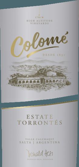 De Colomé Torrontés van Bodega Colomé heeft een goudgele kleur met groene tinten in het glas. De neus is gevuld met duidelijke en indrukwekkende aroma's van verse bloemen (rozen), gekoppeld aan opmerkelijke citrustonen van grapefruit en limoenschil, afgerond met levendige specerijen. De smaak is knisperend, fris en levendig, met complexe maar elegante aroma's van tropisch fruit zoals lychee, citrus en een lange, fruitige minerale afdronk. Spijs aanbeveling voor de Colomé Torrontés Geniet van deze droge witte wijn als aperitief, bij delicate visgerechten, zeevruchten, bij Aziatische gerechten, maar ook bij klassieke gerechten zoals Salade Niçoise of gegrilde groenten. Onderscheidingen voor de Colomé Torrontés Voor de jaargang 2013:Robert M. Parker - 89 punten Wijn Spectator - 87 punten  Wijn Enthusiast - 89 punten  Mundis Vini 2014 - Goud
