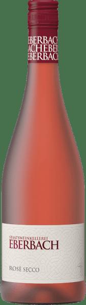 DeRosé Secco van Eberbach is een lichtvoetige, ongecompliceerde Secco gemaakt van de druivensoorten Pinot Noir en andere complementaire rode druivensoorten. Een sterk roze met glinsterende highlights glinstert in het glas van deze mousserende wijn. Het bouquet onthult rijpe, sappige bessen - vooral aardbei en framboos komen op de voorgrond. De aroma's in de neus gaan vergezeld van bloemige hints van viooltjes. In de mond is deze Secco zeer verfrissend met zoet gerijpt aardbeienfruit. De afdronk gaat gepaard met een zoetige nasmaak. Spijsadvies voor de Eberbach Rosé Secco Geniet van deze mousserende wijn uit Duitsland goed gekoeld als een welkom aperitief. Of serveer deze mousserende wijn bij desserts met verse bessen.