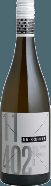 De Bechtheimer Pinot Gris van Dr. Koehler betovert met zijn heerlijke bouquet, waarin zich de aroma's van rijpe peren en appels ontvouwen. Deze noten worden vergezeld door een vleugje kweepeer en honingmeloen. Deze sappige Pinot Gris onthult tonen van peer, papaja en meloen in de mond. Met romigheid en zachtheid gaat deze witte wijn over in een imposante en krachtige afdronk. Spijsadvies voor de Dr. Koehler Bechtheimer Pinot Gris Geniet van deze droge witte wijn bij vis en zeevruchten, pasta of groenteschotel.