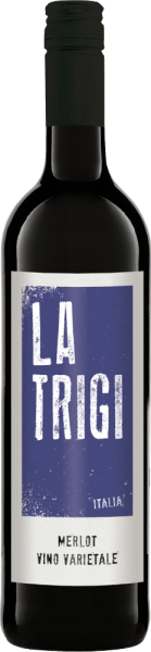 De Merlot van La Trigi openbaart zich in het glas in een krachtig robijnrood, terwijl het fruitig-kruidige bouquet zich ontvouwt. Deze rode wijn is een mediterrane verleiding in de mond en verrukt in de afdronk met zijn kruidige en fruitige hints. Spijsaanbeveling voor de La Trigi Merlot Geniet van deze droge rode wijn bij pasta, gegrild vlees en harde kaas.