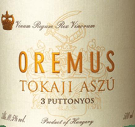 Tokaji Aszù 3 Puttonyos 0,5 l 2013 - Tokaj Oremus von Tokaj Oremus