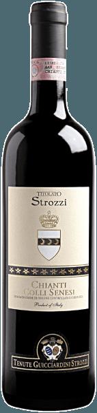 Deze fijne Chianti van het huis Strozzi is voornamelijk gevinifieerd van Sangiovese druiven en is aangenaam, rond en zacht. De Chianti Colli Senesi DOCG Titolato Strozzi van Strozzi maakt indruk met zijn sappige smaak en het aangename bouquet. Het is een heerlijke metgezel bij pasta, pizza en co