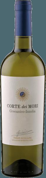 De Terre Siciliane Grecanico-Inzolia IGT van Corte dei Mori - Cantine Francesco Minini toont zich in het glas in een helder strogeel en betovert met zijn heerlijke bouquet, dat zacht en uitnodigend is met zijn jeugdige fruittonen. Deze cuvée van Grecanico en Inzolia druiven is aangenaam in de mond met tonen van sinaasappelbloesem en is aangenaam zacht en rond. Spijsadvies voor de Terre Siciliane Grecanico-Inzolia IGT van Corte dei Mori - Cantine Francesco Minini Geniet van deze droge witte wijn bij vis en schaaldieren, pasta, gevogelte en wit vlees, groenten en risotto of als aperitief. Prijzen voor de Terre Siciliane Grecanico-Inzolia IGT van Corte dei Mori - Cantine Francesco Minini Berlin Winetrophy: Goud (Vintage 2011) Berlin Winetrophy: Goud (Vintage 2010)