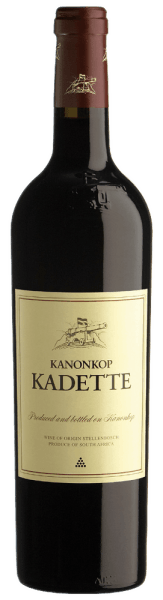 This wine presents itself in the mouth with a velvety, balanced flavor that is accented by a small Tanninenanteil. The Kadette Kanonkop are rich fruit flavors award in the Bordeaux style. Serve with light meat dishes. Data of Kadette Kanonkop Winery: Kanonkop Country: South Africa Region: Stellenbosch Grape: Pinotage 50 %, 50 % Cabernet Franc, Cabernet Sauvignon, Merlot Content: 0,75 l Alcohol content: 14.00 vol % Acidity: 5.30 g / l Residual sugar: 2,00 g / l Shelf life: 4 years barrel maturation: 16 months in French oak barrels Optimum serving temperature: 16 ° C