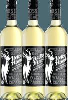 3-pack - White organic mulled wine  - Heißer Hirsch
