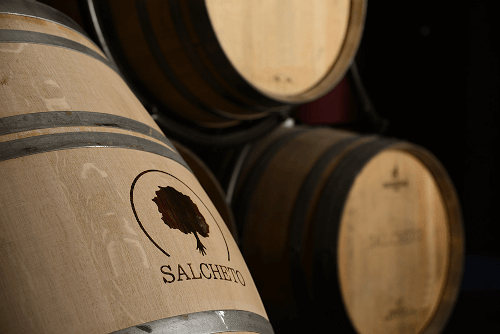 The Tuscan winery Salcheto