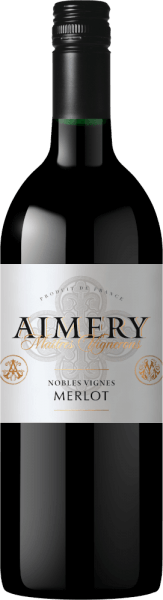 Aimery Merlot 1,0 l 2018 - Sieur d'Arques