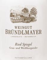 Voorvertoning: Grau- und Weißburgunder Langenloiser Spiegel 2017 - Bründlmayer