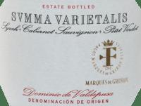 Voorvertoning: Summa Varietalis Tinto DO 2015 - Marques de Grinon