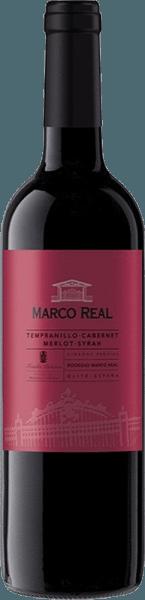 Deze blend presenteert zich in een krachtige rode kleur met violette reflexen.De Tinto DO Navarra van Marco Real verwent met aroma's van rood fruit zoals aardbeien en frambozen. In de mond explodeert hij letterlijk met een medium body en een weelderige, perfecte en tegelijk harmonieuze smaak, voordat de aangename afdronk volgt.