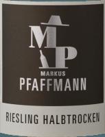 Voorvertoning: MP Riesling halbtrocken 2019 - Markus Pfaffmann