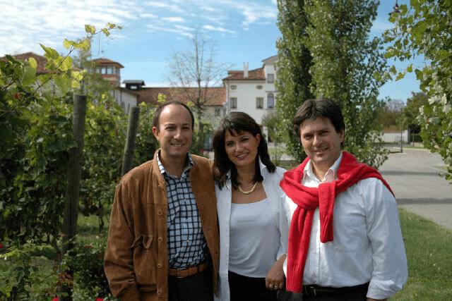 Lucia, Roberto and Carlo Paladin
