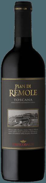 De Pian di Rèmole Rosso van Frescobaldi wordt geproduceerd in de historische Villa Rèmole wijngaard. Deze Toscaanse rode wijn toont zich in het glas in een glanzend paarsrood. In de neus opent zich een zeer fruitig bouquet met tonen van bosbessenjam en zure kersen, gevolgd door kruidige zwarte peper en hints van balsamico salie en eucalyptus. In de mond presenteert de Pian di Rèmole Rosso een mooie frisheid, aangenaam zacht en evenwichtig, van goede drinkbaarheid, de korte rijping op hout geeft structuur en harmonie. Lange afdronk met een mooie ronde nasmaak. Productie van de Pian di Rèmole Rosso door Frescobaldi Deze aangename rode wijn uit het noorden van Toscane is voornamelijk gemaakt van Sangiovese en een klein deel van Cabernet Sauvignon. Na een maceratie van 9 dagen volgt onmiddellijk de malolactische gisting. De wijn rijpt vervolgens 5 maanden in roestvrij staal, kort in houten vaten, wat de structuur en de harmonie ten goede komt, en wordt vervolgens gebotteld en nog 2 maanden gerijpt voordat hij op de markt wordt gebracht. Aanbevelingen voor de Pian di Rèmole Rosso van Frescobaldi Een veelzijdige wijn, perfect voor verschillende gelegenheden, van een snelle lunch tot een aperitief. Het past zeer goed bij pasta in verschillende variaties, ideaal ook bij worst, hoofdgerechten en gevogelte.