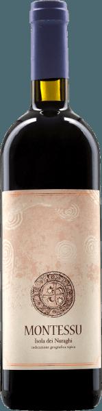 De Montessu Isola dei Nuraghi van Agricola Punica is een aangenaam toegankelijke rode wijn uit Sardinië, die bekoort met zijn diepe robijnrode kleur en violette schakeringen. De Montessu bekoort met een delicaat en tegelijkertijd doordringend bouquet van rode bosbessen, een beetje zoethout en discrete kruidentoetsen. In de mond verleiden frambozen en bosbessen met wat zoethout en een mooi evenwichtige smaak en goed geïntegreerde tannines. Wij bevelen de Montessu aan bij gestoofd vlees en medium belegen kaas.