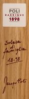 Voorvertoning: Poli Barrique Solera di famiglia Grappa in GP - Jacopo Poli