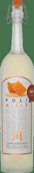De Poli Miele Museo della Grappa van Jacopo Poli is een zachte, fijnzoete grappa gedistilleerd uit de draf van verschillende druivensoorten uit Veneto en op smaak gebracht metacaciabloesemhoning en essences van kruidenolie. In het glas heeft deze grappa een zeer helder strogeel met glinsterende reflexen. Het fijne bouquet onthult aromatische noten naar dennen, sinaasappel evenals acaciabloesem en discrete hints naar jeneverbes. In de mond is deze gearomatiseerde marc brandy heerlijk zacht met een fijne zoetheid, die perfect wordt onderstreept door balsamico-aroma's. Distillatie van de JacopoPoli Miele Museo della Grappa De nog verse draf van de verschillende druivensoorten uit de Venetiaanse appellation Vicenza wordt op traditionele wijze gedistilleerd in oude koperen distilleerketels. Na het distillatieproces heeft deze Grappa nog 75 Vol%. Door toevoeging van gedistilleerd water bereikt deze druivendraf-eau-de-vie een alcoholgehalte van 35% vol. Na toevoeging van deacaciabloesemhoning en de fijne kruidenrust deze Grappa in totaal 3 maanden in hoogwaardige stalen tanks, om tenslotte zachtjes gefilterd op de fles te worden afgevuld. Aanbeveling voor het serveren van dePoli Miele Museo della Grappa Jacopo Poli Deze Italiaanse druivendraf brandewijn past perfect bij desserts van zanddeeg of kan worden geserveerd als een mooie afsluiting van een heerlijke maaltijd. Geniet van deze grappa bij een temperatuur van 10 tot 15 graden Celsius.