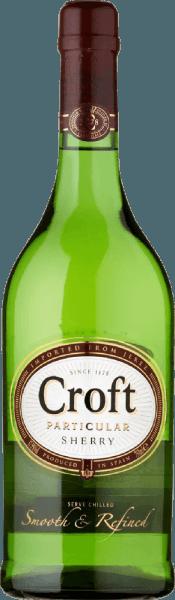 DeCroft Particular Pale Dry van Gonzalez Byass wordt uitsluitend gevinifieerd van het druivenras Palomino Fino, dat groeit in het Spaanse wijnbouwgebied DO Jerez - een sherry met een elegant, nootachtig karakter. In het glas schittert deze wijn in een briljant witgoud met sprankelende reflecties. Het aromatypische, verfijnde bouquet wordt bepaald door licht nootachtige tonen en een fijne gisttoets met hints van eikenhoutkruiden. In de mond is deze sherry heerlijk fris en levendig. De delicate zoetheid is zeer goed geïntegreerd in de elegante body en begeleidt in de lange, nootachtige afdronk. Spijs aanbeveling voor de Gonzalez ByassCroft Particular Pale Dry Sherry Geniet van deze sherry uit Spanje bij verse vis van de grill, kipfilet in een romige saus of ook bij gerijpte kazen.