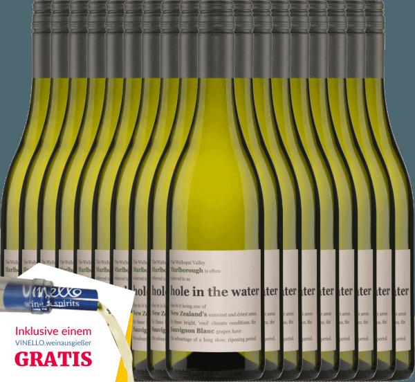 18er Vorteils-Weinpaket - Hole in the Water Sauvignon Blanc 2020 - Konrad Wines von Konrad Wines