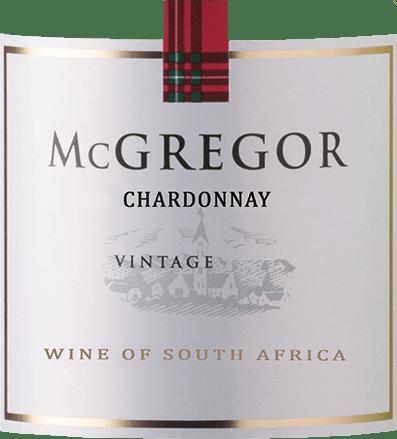 De Chardonnay van McGregor presenteert zich met een vol, droog en delicaat karakter. Hij streelt de neus met aroma's van guave en limoen, die hem zijn exotische frisheid geven. Het sappige en zachte gehemelte overtuigt met een elegante en fijne zuurstructuur. De wijn wordt stijlvol afgerond door een lichtzoete noot. Wij bevelen het aan bij vis, schaaldieren, verse salades of als aperitief.