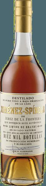 De brandewijn Criadera 10.000 botellas D.O. van Ximénez-Spinola presenteert zich in een donker amberkleurig glas en verleidt met zijn zachte en aromatische bouquet. Deze is harmonieus samengesteld uit gedroogde abrikozen, dadels, nootachtige noten en een nobel geroosterd aroma. Deze brandewijn uit Spanje is dicht en krachtig in de mond en eindigt in een lange en zachte afdronk. Geniet van de Brandy Criadera als digestief.