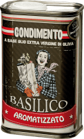 Olio Extra Vergine di Oliva al Basilico 0,25 l - Tenuta Sant'Ilario