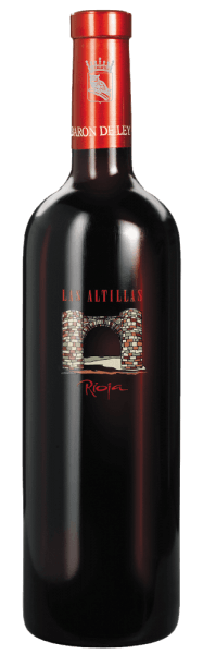 The Las Altillas by Barón de Ley brings a strong taste of red fruits, tobacco and spices, without being intrusive. The red wine matures not only in barrels of American oak, but also partly in French oak barrels. Before filling the wine is only slightly filtered and presents itself as modern and high-class Rioja wine. This wine is very good storage, but can also be drunk young.