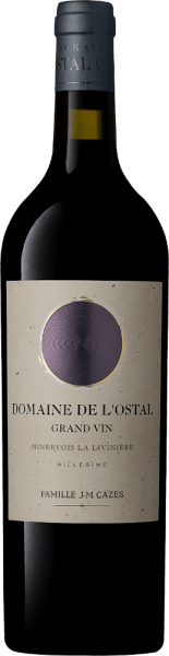 Domaine de L'Ostal Grand Vin Minervois La Livinière AOC 2017 - Domaines Cazes