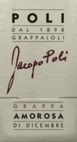 Voorvertoning: Amorosa di Dicembre Grappa 0,5 l - Jacopo Poli