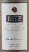 Voorvertoning: Cuvée Frangine 2014 - Betz Family Winery
