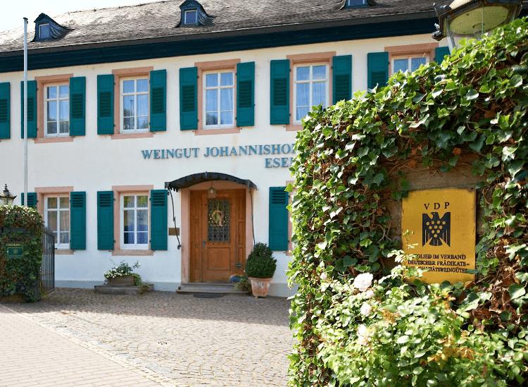 The Weingut Johannishof in the Rheingau