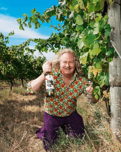 The Australian winegrower Chester Osborn