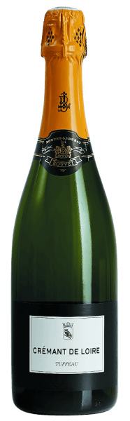 The Crémant de Loire Tuffeau by Bouvet Ladubay presents itself in a sparkling yellow color with golden sparkles. The Crémant's delightful bouquet exudes pleasant floral aromas, accompanied by delicate fruit notes. The palate is refined with subtle hints of summer blossom honey and freshly baked brioche. The expressive character is characterized by finesse and ends in an excellent and balanced final.