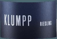 Voorvertoning: Riesling trocken 2019 - Klumpp