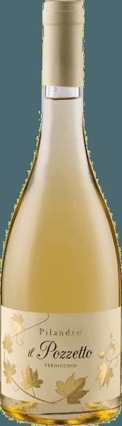 De Il Pozzetto Verdicchio Jesi Classico DOC van Azienda Agricola Pilandro schittert goudgeel in het glas en bekoort met zijn frisse bouquet, dat aroma's van geel en tropisch fruit onthult. Deze fruitige noten worden afgerond door kruidachtige nuances. In de mond begint deze Trebbiano zoetig. Deze eerste indruk wordt gevolgd door delicate weidekruiden en een levendige zuurgraad die deze witte wijn zijn spanning en frisheid geeft. Vinificatie van de Pilandro Il Pozzetto De druiven voor deze zuivere witte wijn worden met de hand geoogst en vervolgens voorzichtig geperst. Dit wordt gevolgd door een temperatuurgecontroleerde gisting in roestvrijstalen tanks, gevolgd door een verfijning in de fles na het bottelen. Aanbevolen eten voor de Pilandro Il Pozzetto Geniet van deze droge witte wijn bij zomerse salades, vis, gegrild gevogelte of pasta.