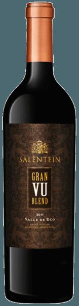De Gran VU Blend van Bodegas Salentein schittert dieprood in het glas met violette reflexen. De aroma's van donker fruit, zoethout en munt ontvouwen zich. Deze rode wijn is dicht en complex in de mond met zachte en elegante tannines. Deze kruidige en volle wijn uit Argentinië eindigt met een zeer lange afdronk. Vinificatie van de Salentein Gran VU Blend Deze cuvée uit de Valle de Uco (VU) wordt gevinifieerd van de druivensoorten Malbec (73%) en Cabernet Sauvignon (27%). Na de oogst worden de druiven gefermenteerd en gedurende 24 maanden gerijpt in Franse eiken vaten. Aanbevolen voedsel voor de Salentein Gran VU Blend Geniet van deze droge rode wijn bij kort geroosterde ossenhaas of bij Osso Bucco a la Milanese. Onderscheidingen van de Salentein Gran VU Blend Robert Parker: 93 punten voor 2011 Tim Atkin: 94 punten voor 2011 Wine Spectator: 91 punten voor 2011