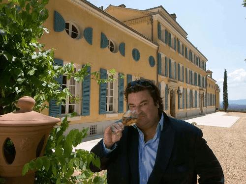 The winemaker Sacha Lichine