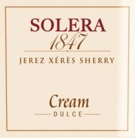 Voorvertoning: Solera 1847 Cream - Gonzalez Byass