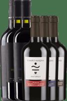 Voorvertoning: 6er Kennenlernpaket - italienische Rotweine von Luccarelli