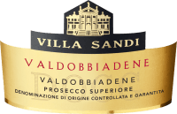 Voorvertoning: Prosecco Superiore Valdobbiadene Spumante Extra Dry DOCG - Villa Sandi