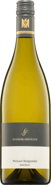 De Pinot Blanc kwaliteitswijn van Schäfer-Fröhlich presenteert zich in een licht geel-groenige kleur in het wijnglas. De koele neus straalt helderheid en frisheid uit en doet denken aan steenfruit. In de strak gestructureerde mond is er een dichte, zilte mineraliteit met rijpe appel en perzik met kruidige specerijen. Een vleugje romigheid rondt het gehemelte af en sluit af met een lange afdronk. Een zeer expressieve, zachte witte wijn met een rijp karakter, prachtig evenwicht, dichtheid, kracht, diepte en substantie. Wij bevelen het aan bij gevogelte en wit vlees.