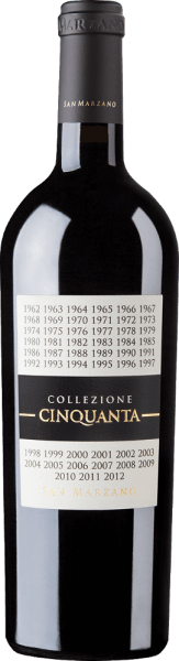 Collezione Cinquanta Vino Rosso d'Italia - Cantine San Marzano